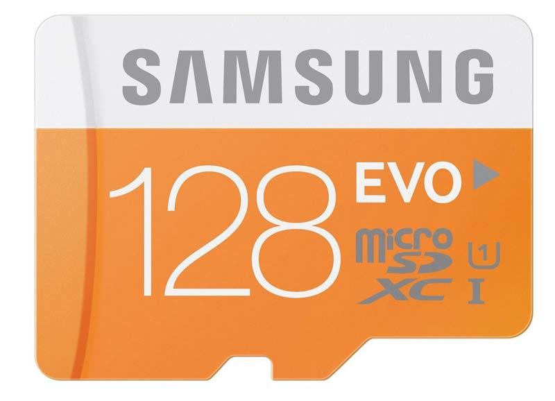 Tarjeta micro SD Samsung de 128 GB