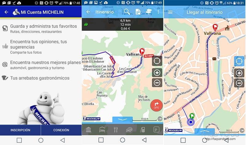 ViaMichelin se actualiza: los itinerarios de Guía Michelín con el coste total de ruta