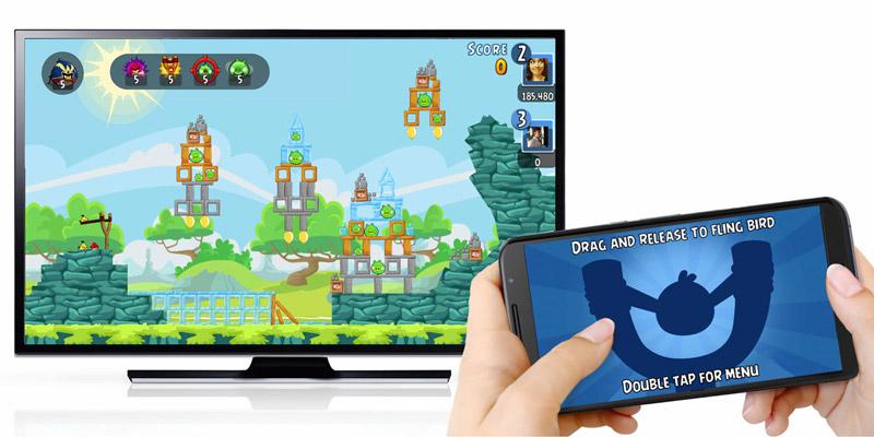 Angry Birds para Chromecast