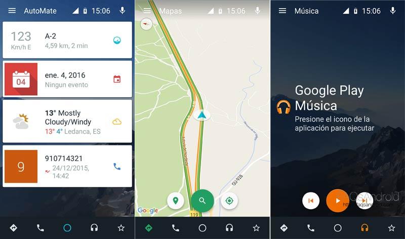 AutoMate, el launcher Android diseñado para utilizarse en el coche