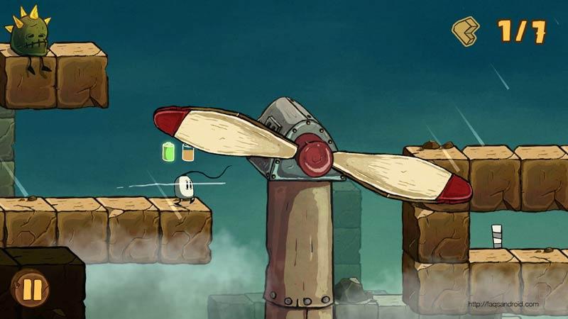 Blown Away, un juego Android de plataformas cargado de teletransporte