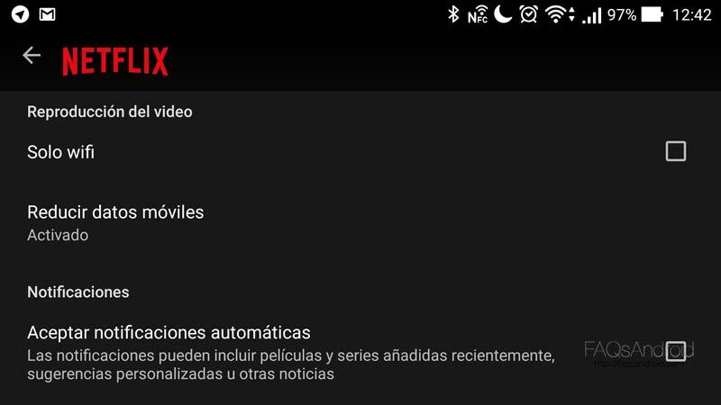 Trucos para sacarle todo el jugo a Netflix para Android