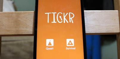 Tickr, un juego de habilidad tan simple que te sorprenderá por su adicción