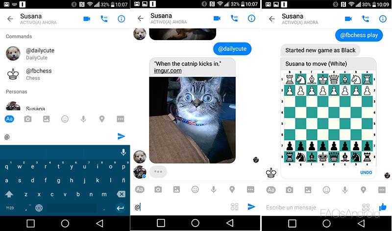 Guía completa de Facebook Messenger con trucos, instalación, aplicaciones...