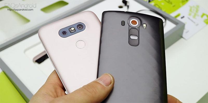 LG G5 vs LG G4: comparativa exprés desde el WMC 2016