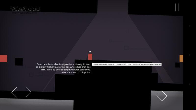 Thomas Was Alone, un Portal cuadriculado plagado de plataformas