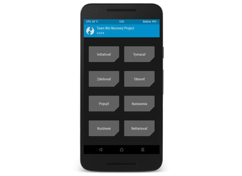 El custom recovery TWRP alcanza la versión 3.0: mejoras para el ROOT en Android