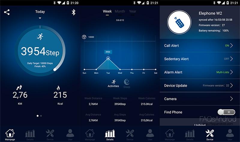 App Elephone W2