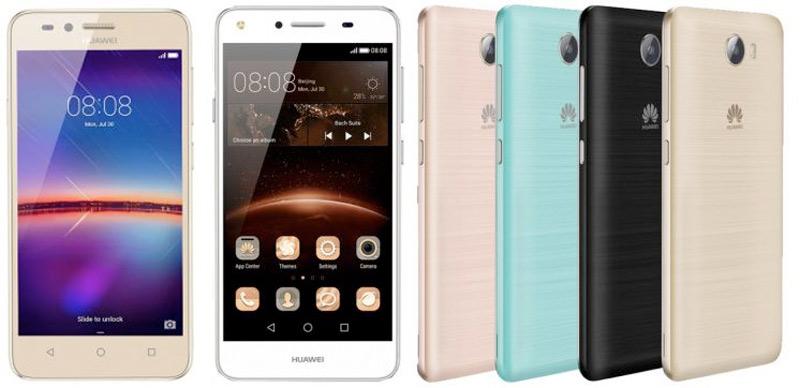 Huawei Y5 II y Huawei Y3 II: características y renders