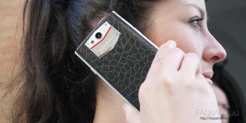 Uhans U100: análisis de un móvil chino que busca parecerse a Vertu