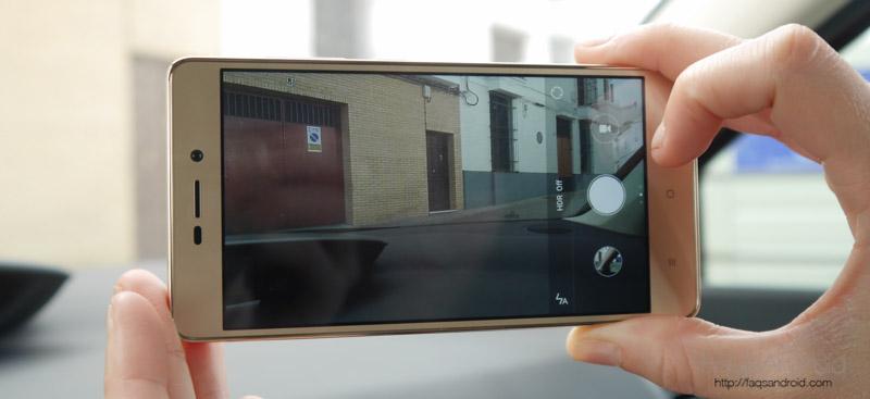 Cámara del Xiaomi Redmi 3