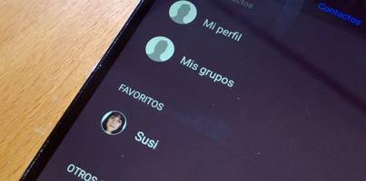 Cómo gestionar los contactos en Android. Backup, migración desde iPhone, BlackBerry...