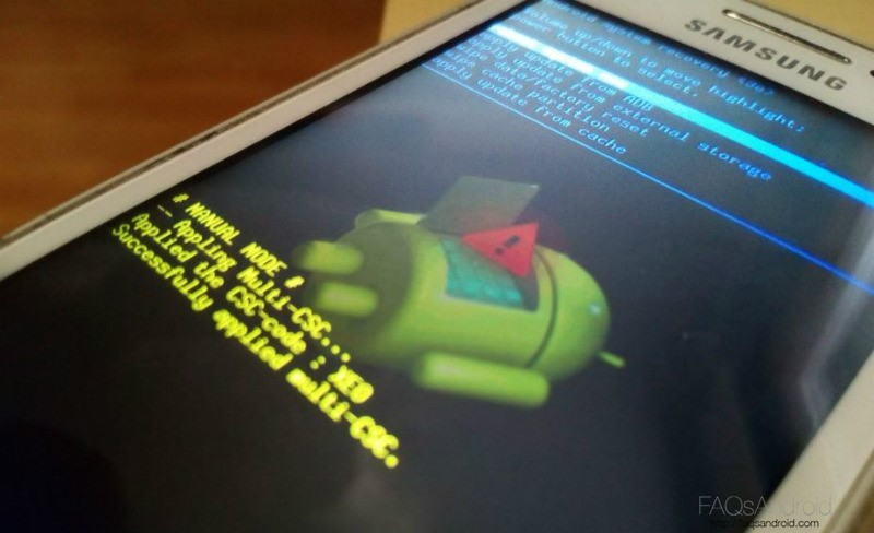 Formatear Móviles Android Modo Recovery