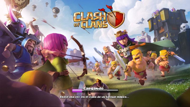 Juegos de Estrategia Para Android Clash Of Clans Logo
