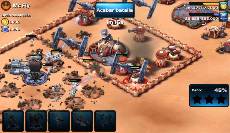 Juegos de Estrategia Para Android Star Wars