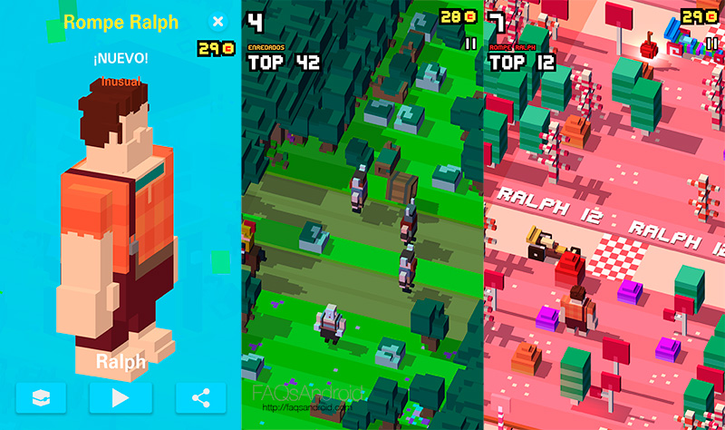 Ya disponible Disney Crossy Road en el Google Play Store