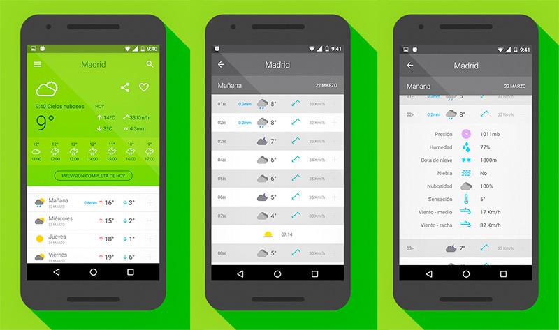 App El Tiempo Android