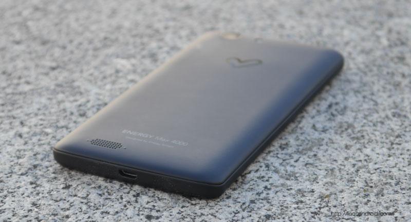Energy Phone Max 4000 Autonomía
