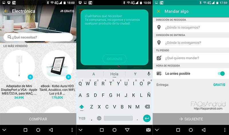 Glovo, la app que te permite comprar y recibir el producto en minutos
