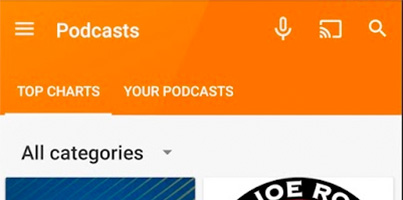 Google lanza los podcasts en Google Play Music