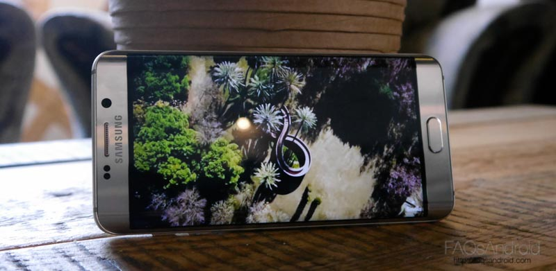 Pantalla del Samsung Galaxy S6 Edge Plus