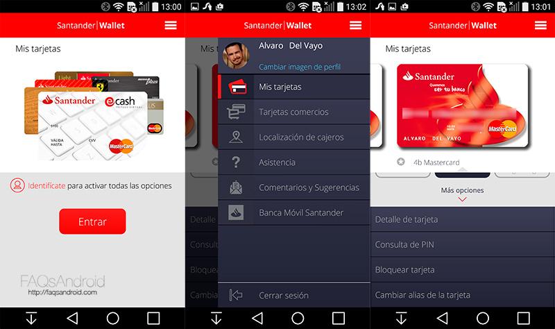 Banco Santander permitirá pagar desde móviles Android