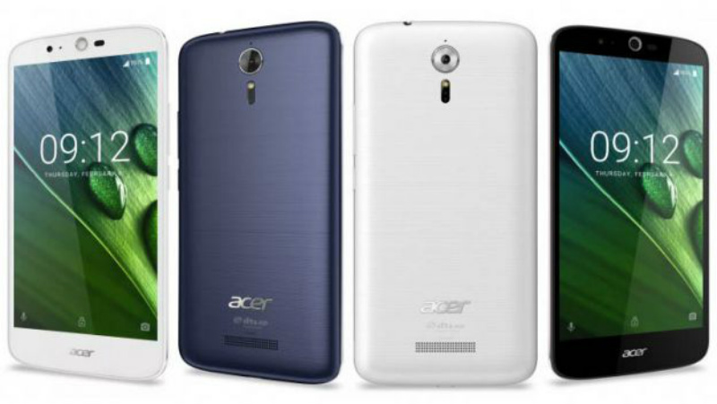 Acer Liquid Zest Plus Colores