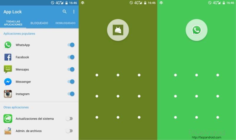 Bloquear Aplicaciones en Android AppLock