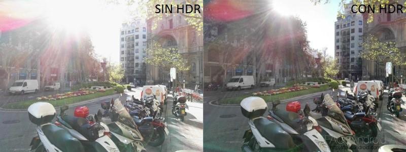 Análisis Huawei P8 Fotografía Comparativa HDR