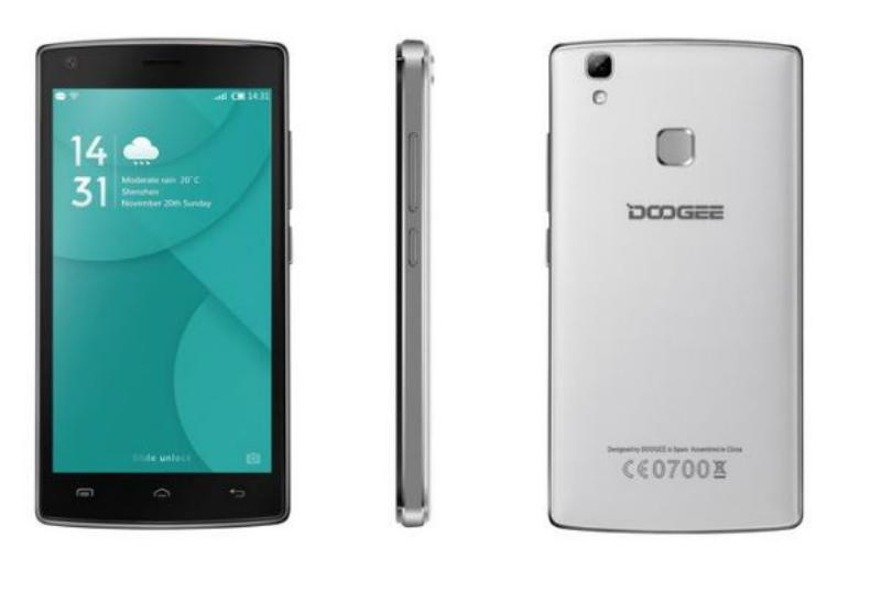 Doogee X5 Max Blanco