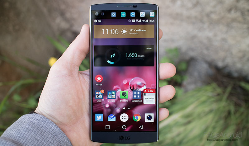 Análisis del LG V10 con review en vídeo HD