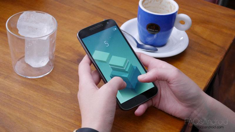 El Moto G4 es dual SIM a la vieja usanza