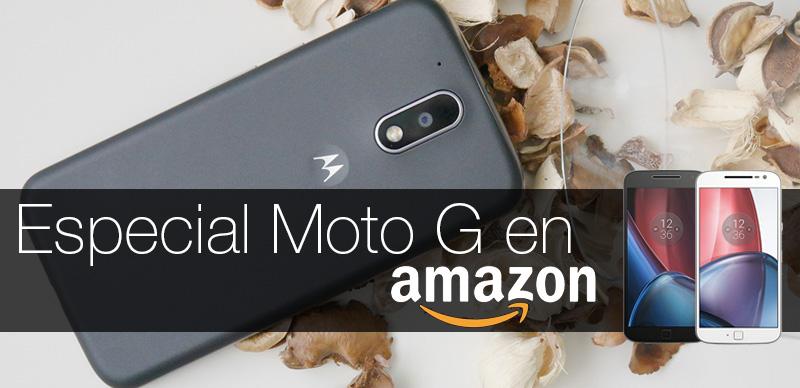 Moto G en Amazon