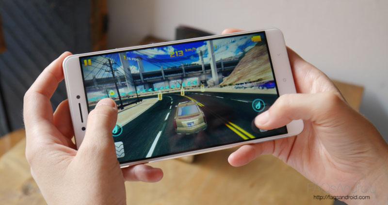 Xiaomi Mi Max Potencia y características: un señor gama media