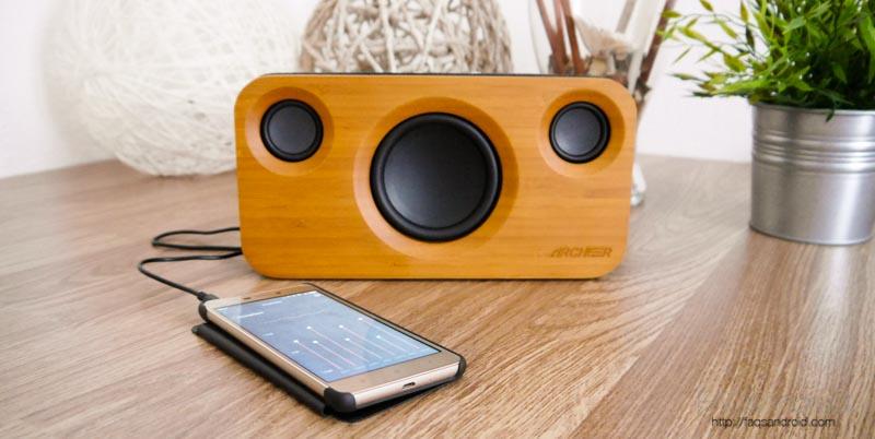 Análisis altavoz bluetooth 2.1 Archeer Wireless Home Stereo