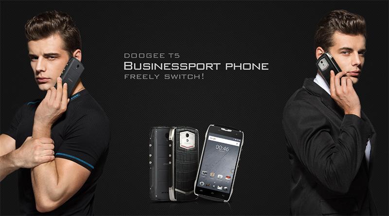 Doogee T5 Sport o Bussiness: elige el modelo y gana premios