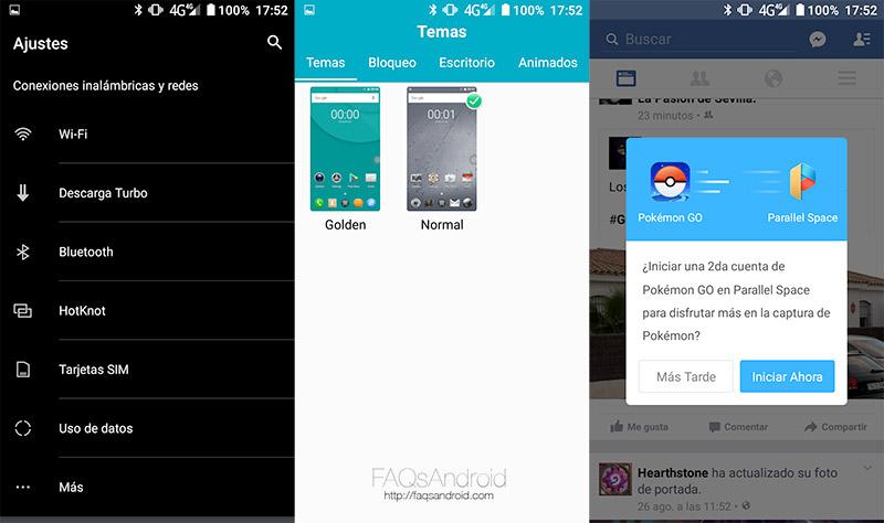 Interfaz y apps: muchas modificaciones, algunas útiles