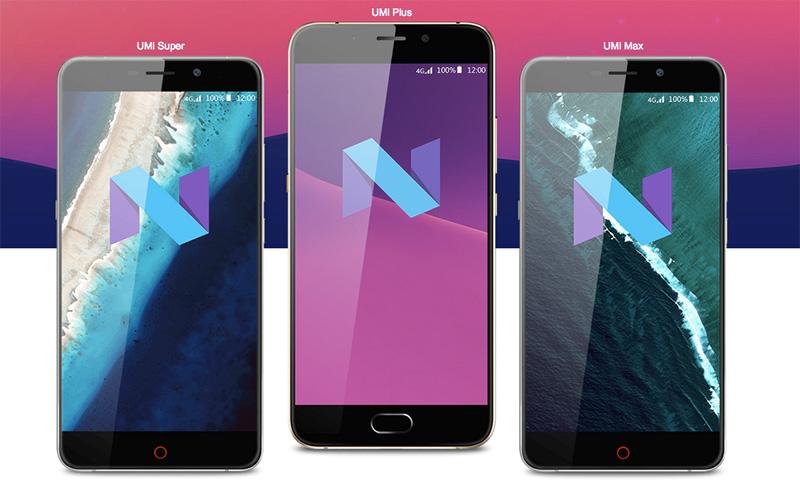 El fabricante de móviles Android chinos UMI ha anunciado que los UMI Max, UMI Super y UMI Plus se actualizarán a Android 7.0 Nougat.