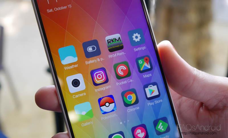 Interfaz y apps: MIUI sin mucho que contar