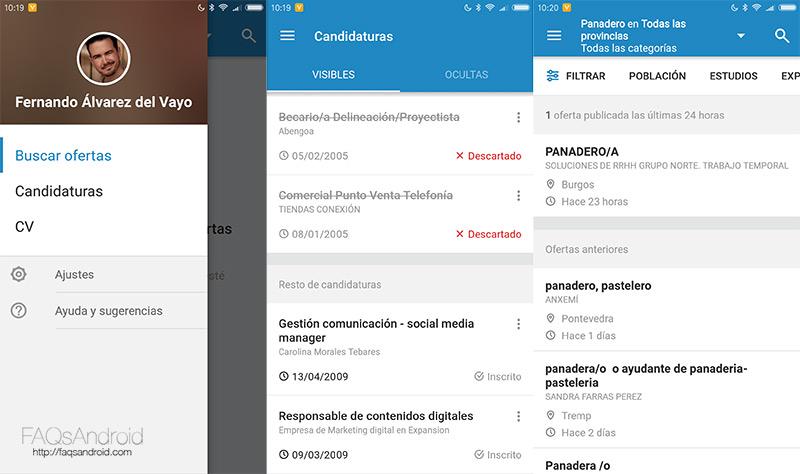 La app de Infojobs te ayuda a encontrar trabajo