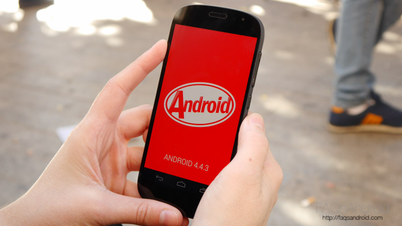 Interfaz y apps: Android 4.4 en 2016