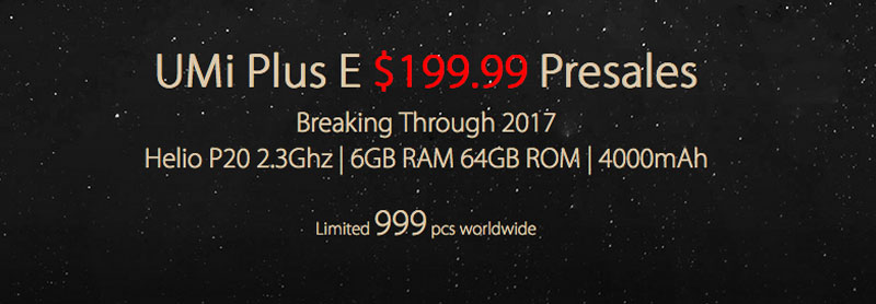 El UMI Plus E con 6 GB de RAM disponible por 183 euros