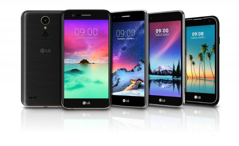 LG Stylus 3 y LG K10, K8, K4 y K3