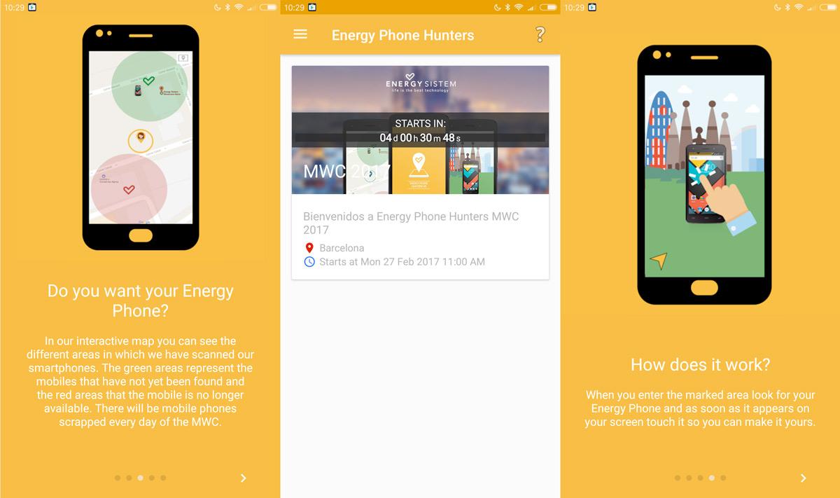 Energy Sistem esconde 40 móviles en Barcelona para que te los lleves gratis