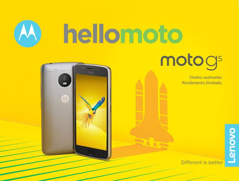 Lenovo Moto G5 y Moto G5 Plus