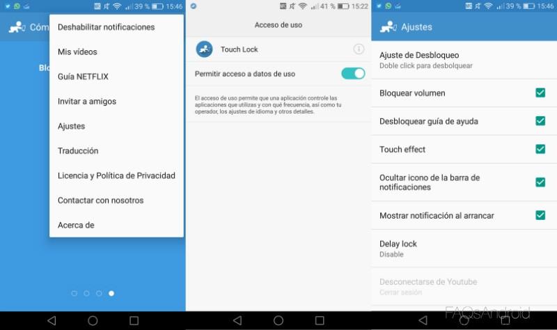 Touch Lock: app para bloquear la pantalla de tu Android