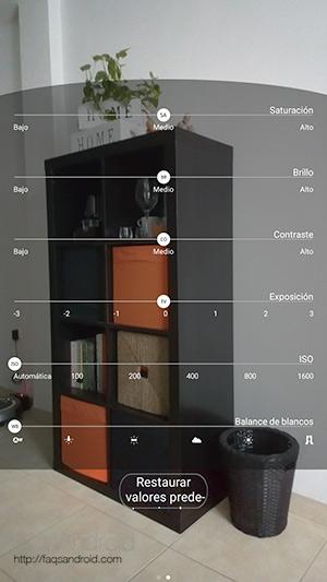 Cámara: usable, sencilla y válida