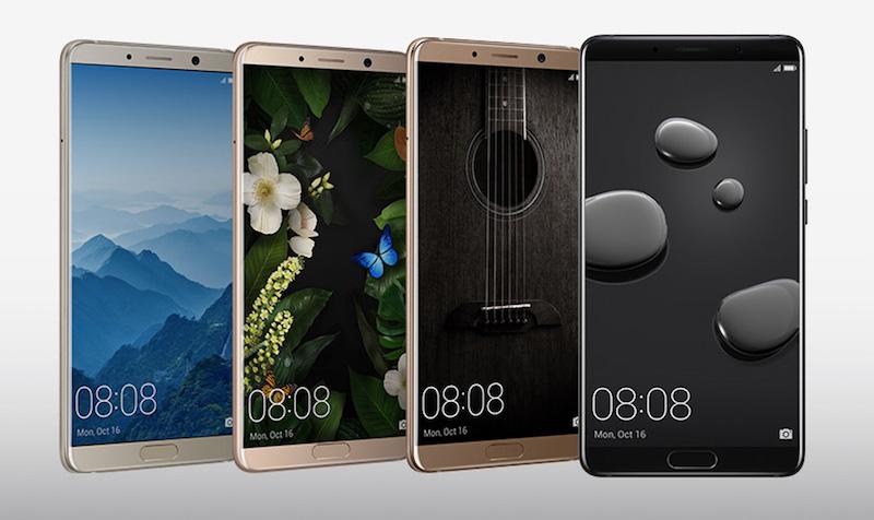 Huawei Mate 10, Mate 10 Pro y Mate 10 Porsche Design