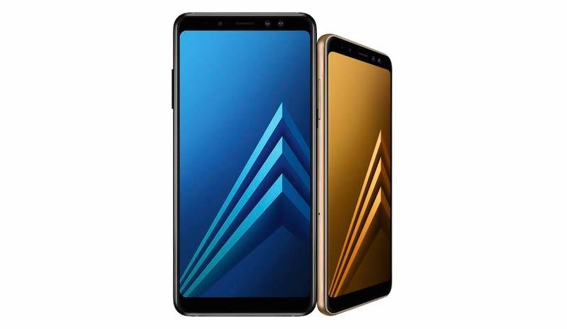 Samsung Galaxy A8 y Galaxy A8 Plus