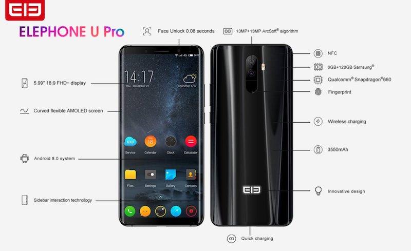 Elephone U y Elephone U Pro